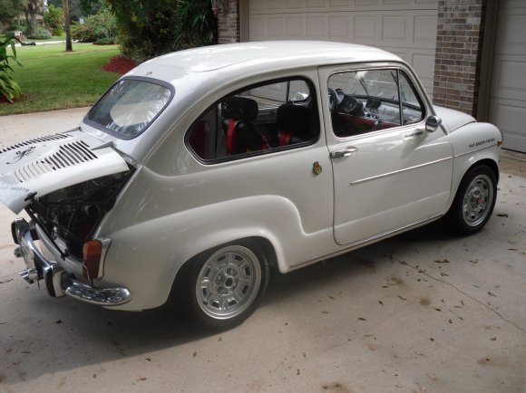 Abarth 850 photo - 3