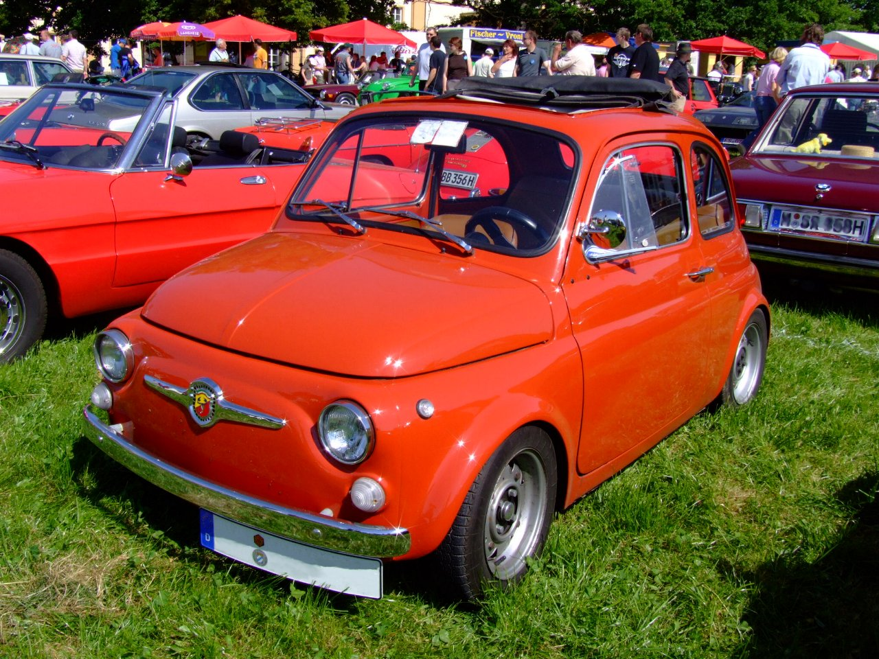 Abarth cabriolet photo - 1