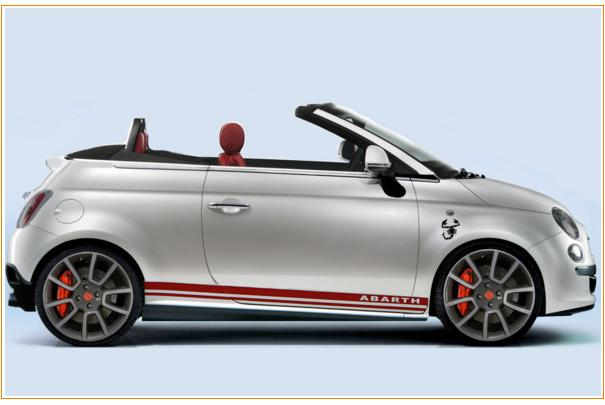 Abarth cabriolet photo - 4