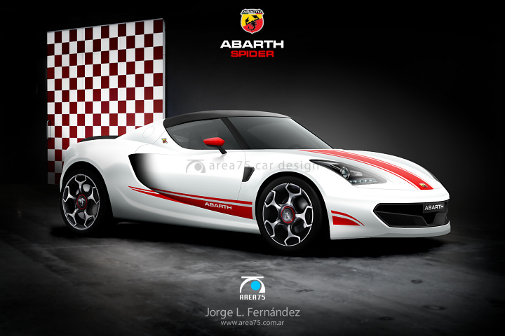 Abarth spider photo - 1