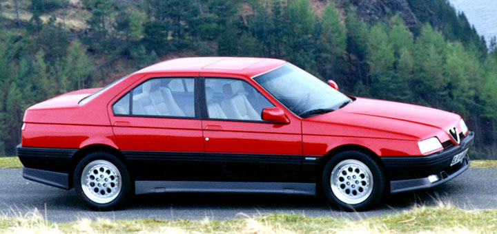 Alfa romeo 164 photo - 3