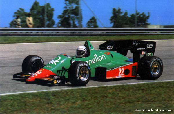 Alfa romeo 184t photo - 1