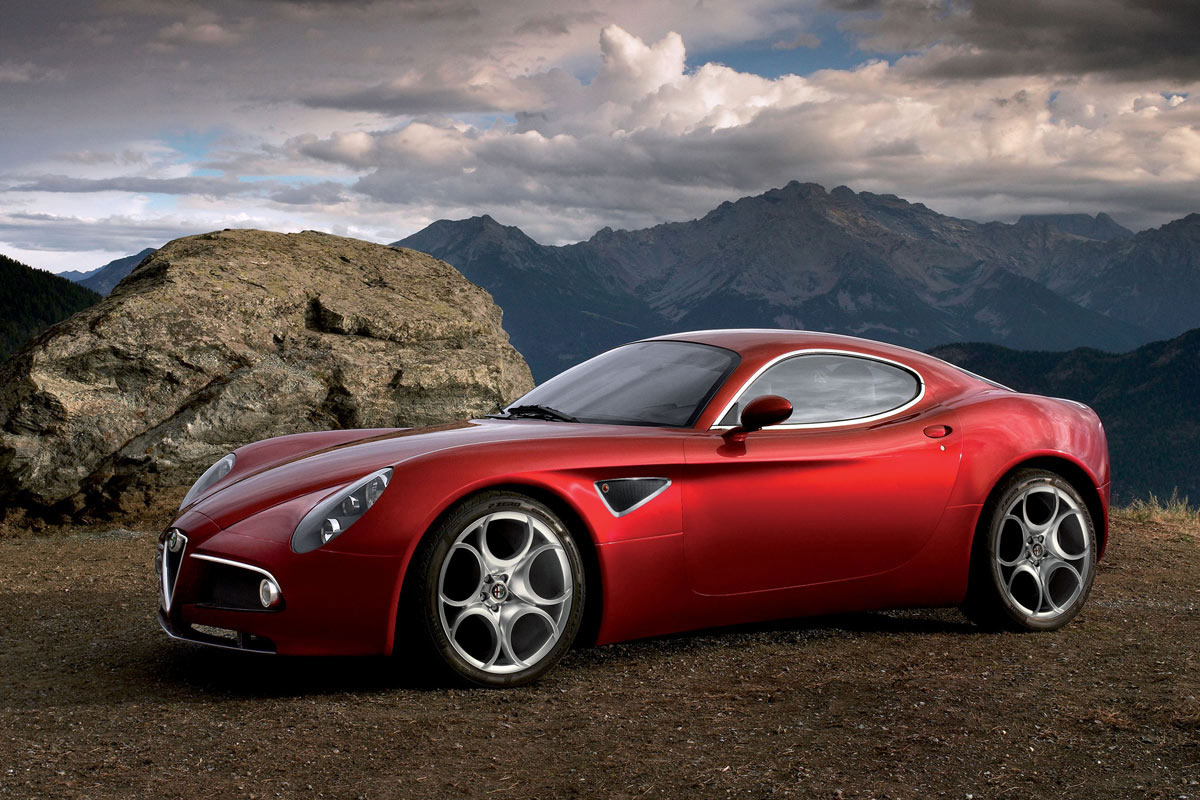 Alfa romeo 8c photo - 2