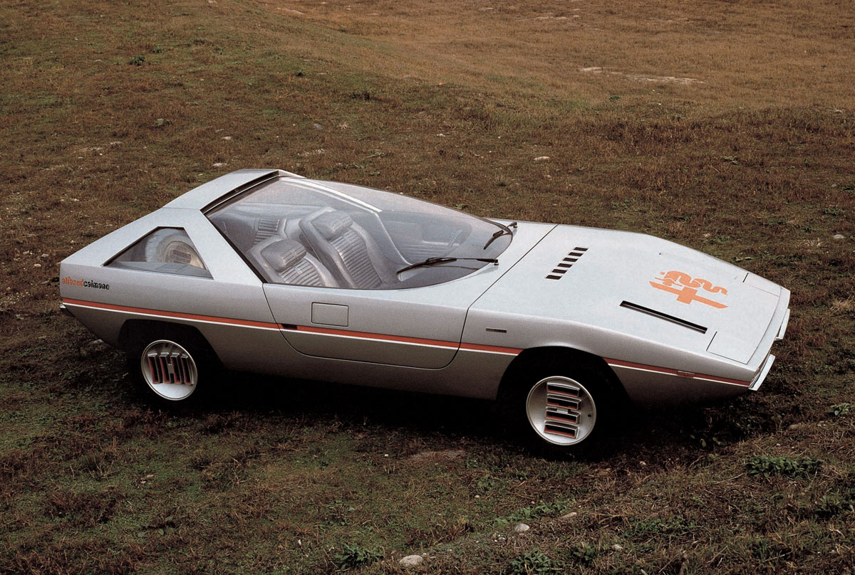 Alfa romeo caimano photo - 4