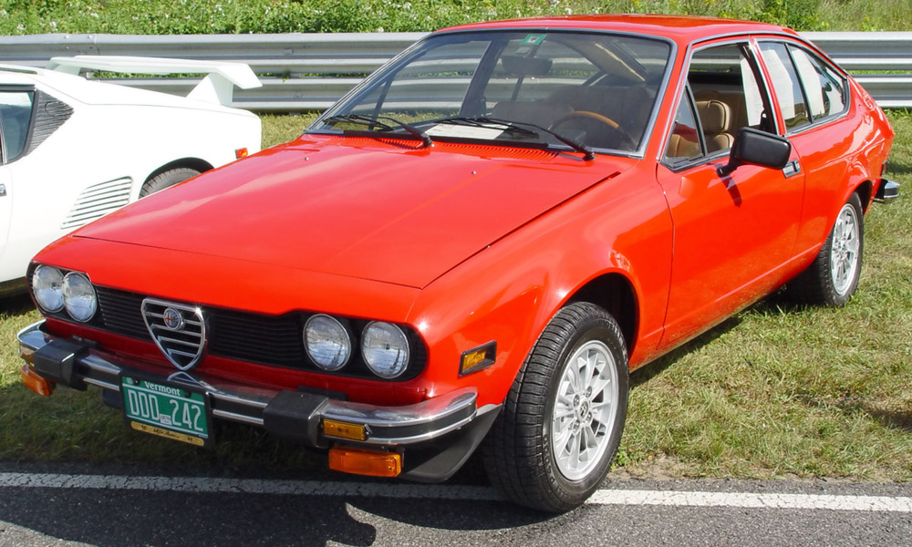 Alfa romeo gtv6 photo - 2