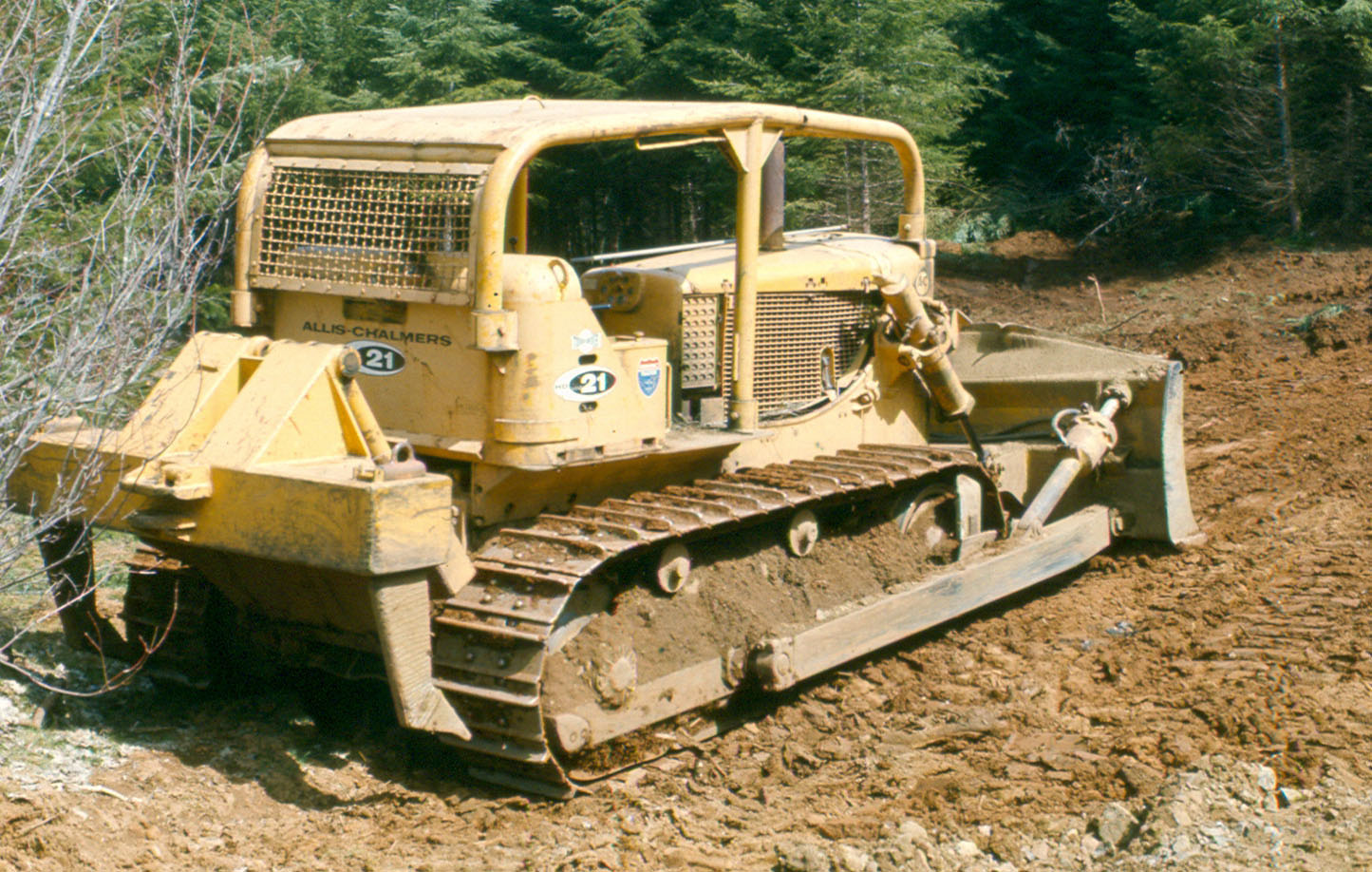 Allis-chalmers bulldozer photo - 1