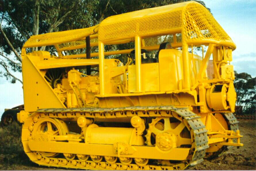 Allis-chalmers bulldozer photo - 3