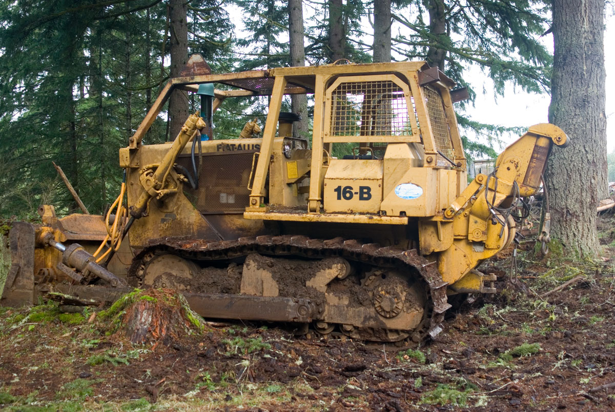 Allis-chalmers bulldozer photo - 4