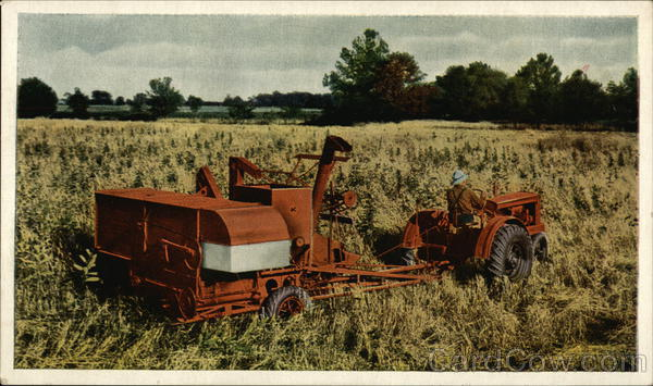 Allis-chalmers harvester photo - 4