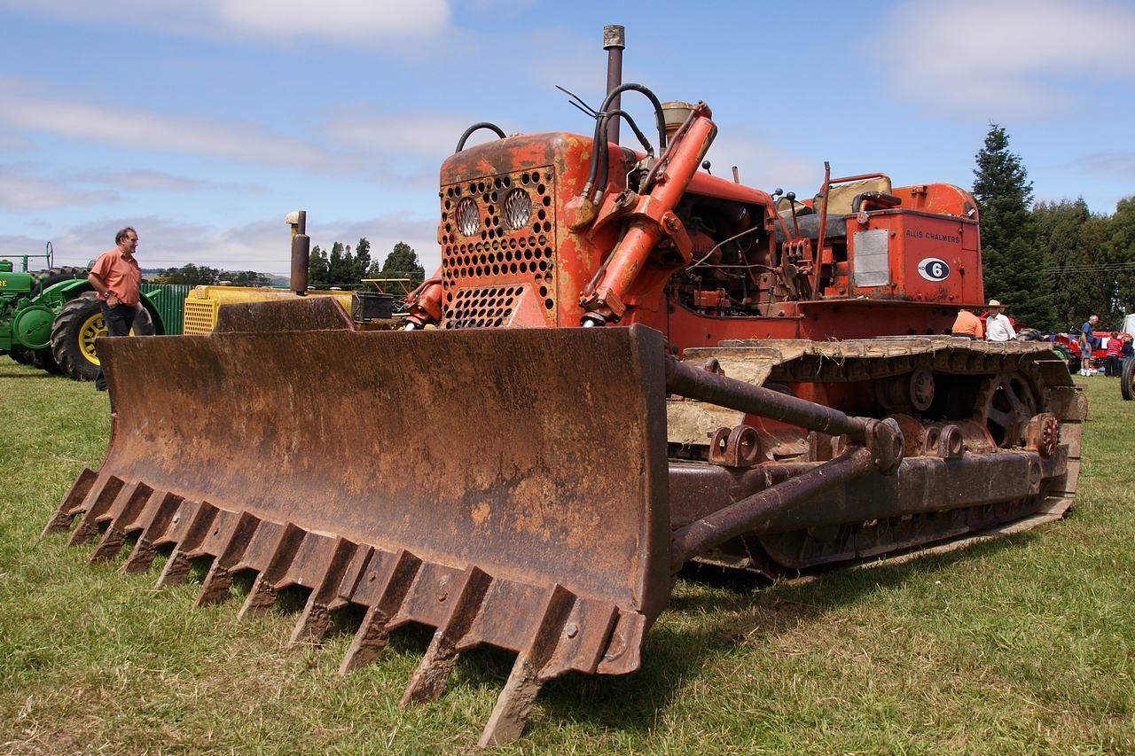 Allis-chalmers hd-6 photo - 2