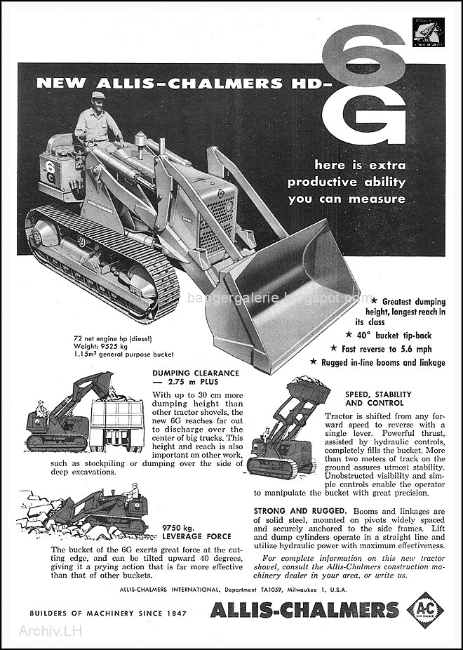 Allis-chalmers loader photo - 3