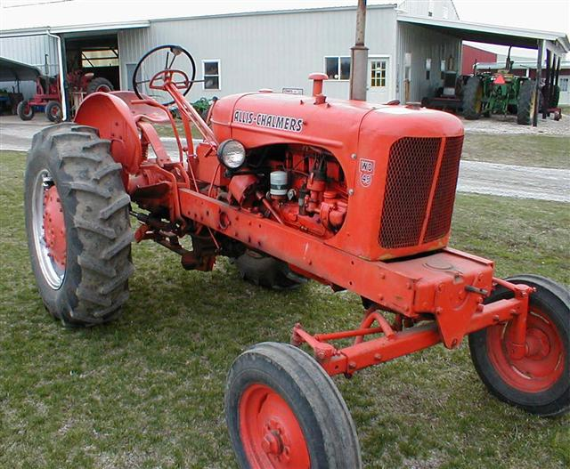 Allis-chalmers wd photo - 1