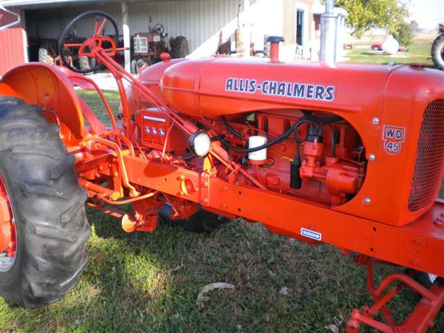 Allis-chalmers wd photo - 2