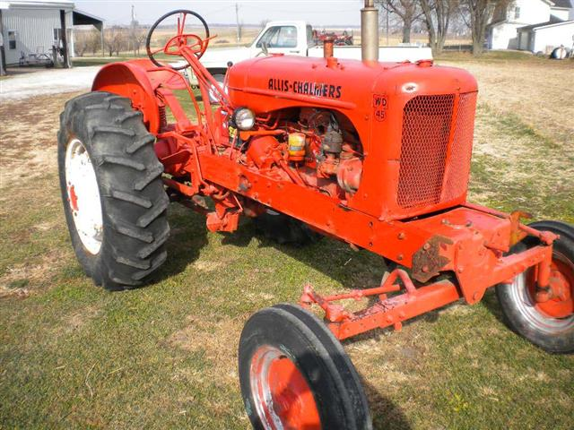 Allis-chalmers wd-45 photo - 4