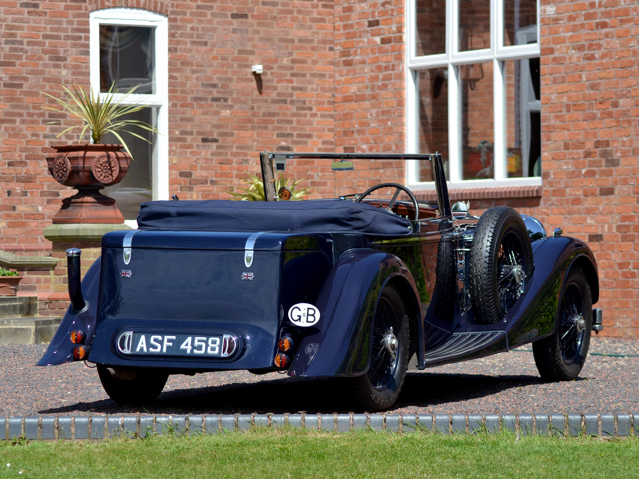 Alvis drophead photo - 2