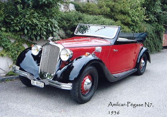 Amilcar pegase photo - 1