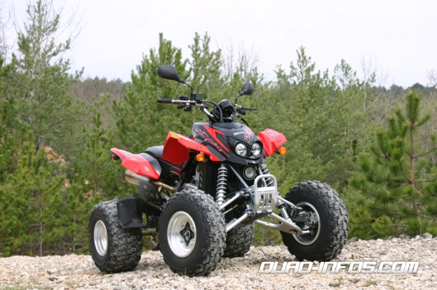Arctic cat 400 photo - 1
