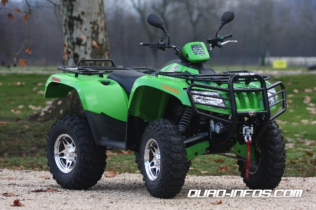 Arctic cat 650 photo - 2