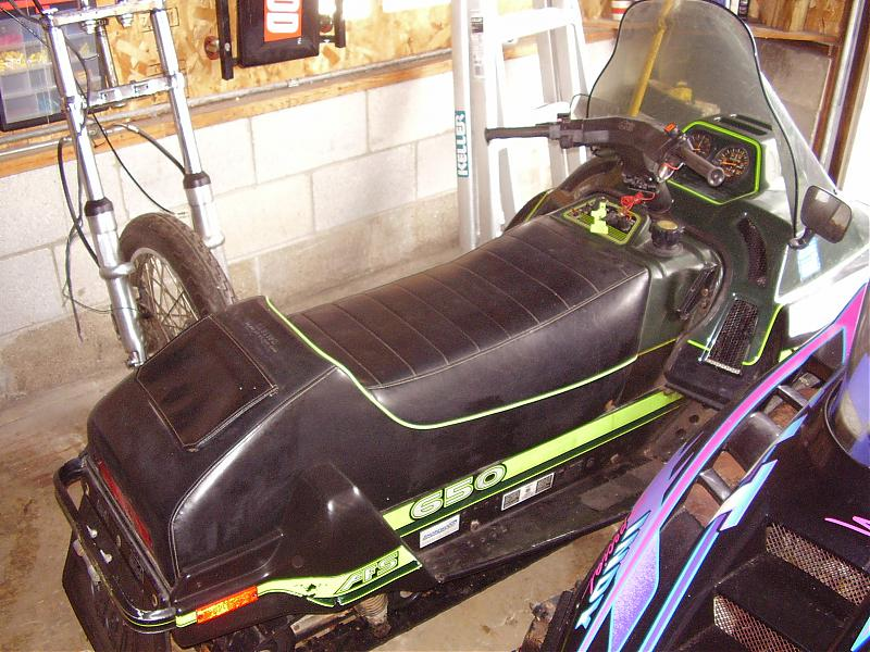 Arctic cat 650 photo - 3