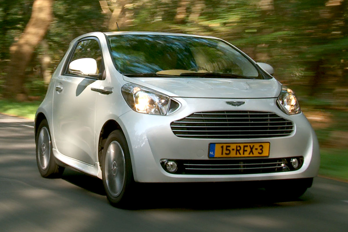 Aston martin cygnet photo - 4