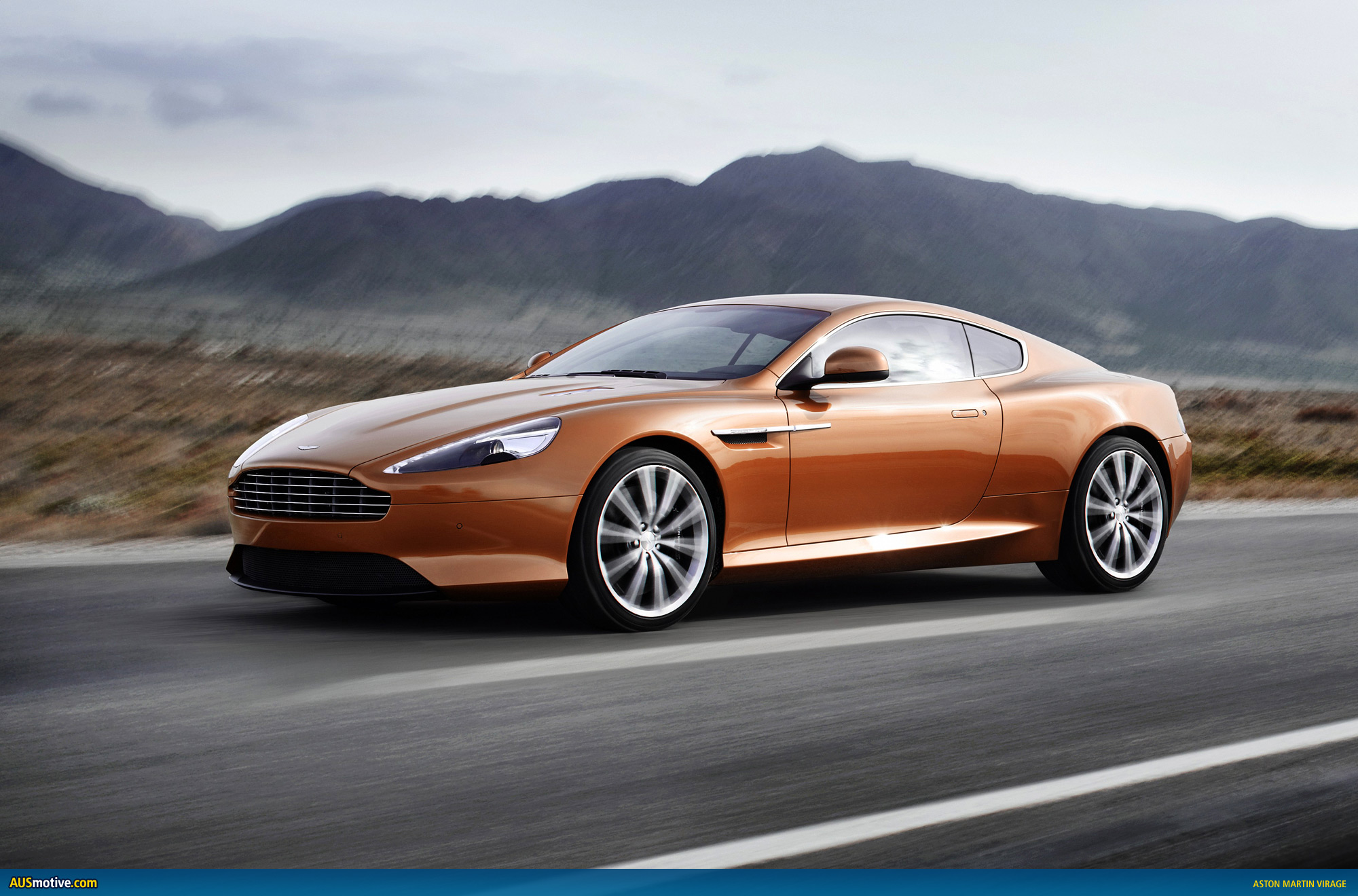 Aston martin virage photo - 2