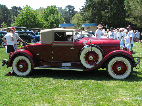 Auburn cabriolet photo - 1