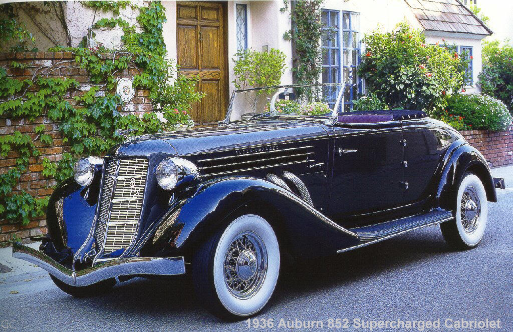 Auburn cabriolet photo - 2