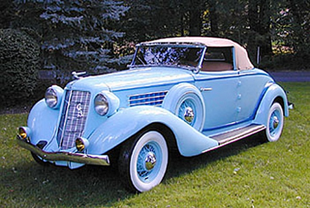 Auburn cabriolet photo - 3