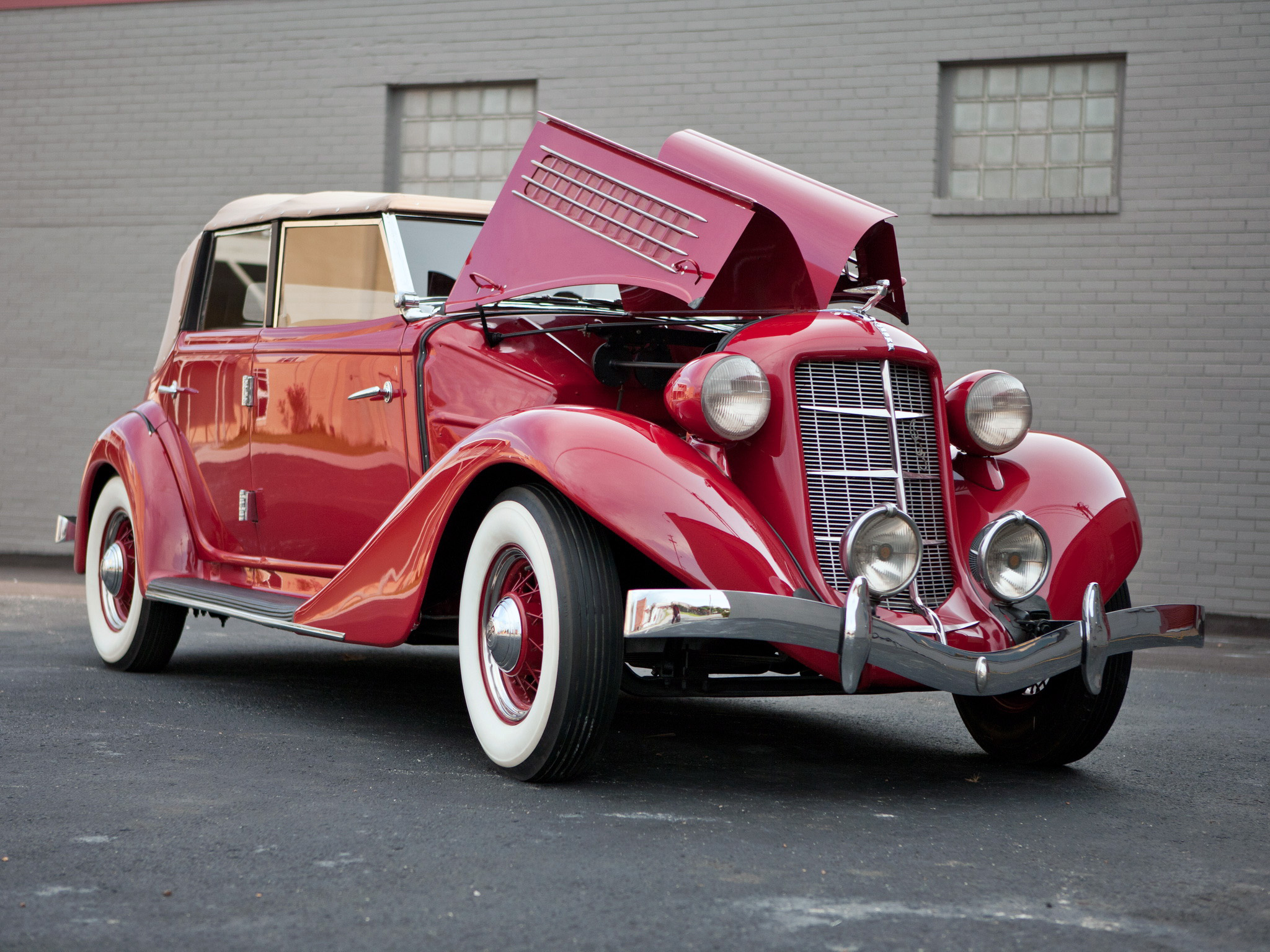 Auburn phaeton photo - 1