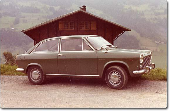 Autobianchi primula photo - 1