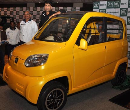 Bajaj re photo - 2