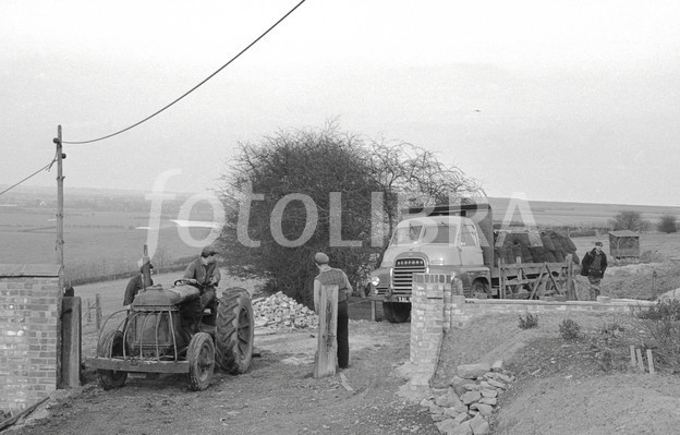 Bedford tractor photo - 1