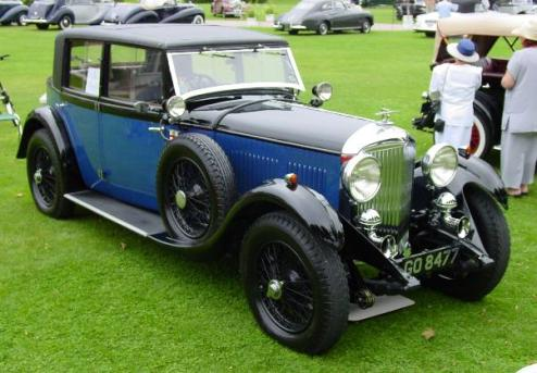 Bentley 4-litre photo - 2