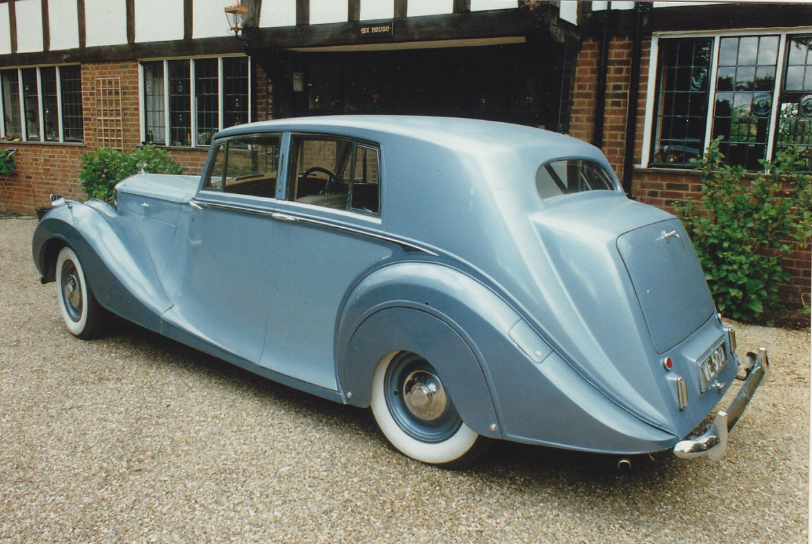 Bentley mk vi photo - 4