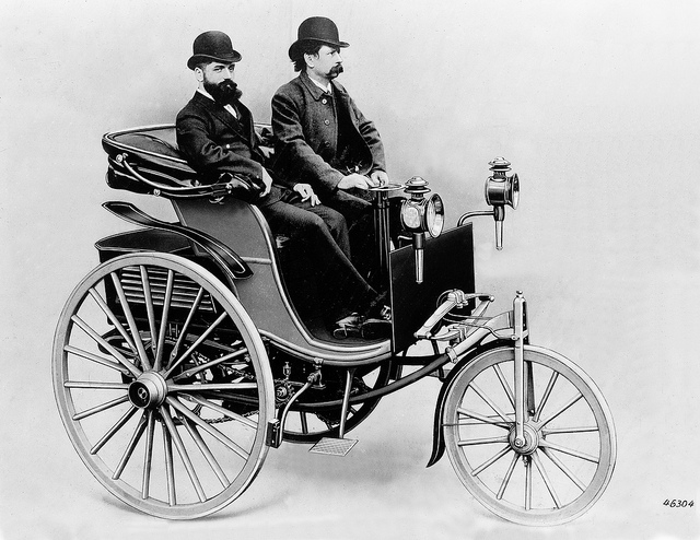 Benz patent-motorwagen photo - 1