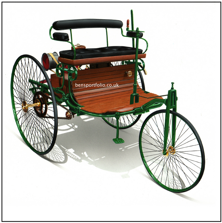 Benz patent-motorwagen photo - 3