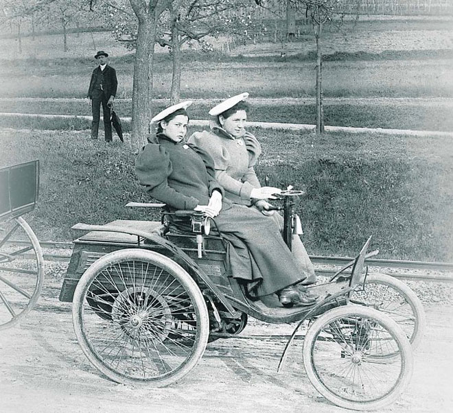 Benz velociped photo - 2