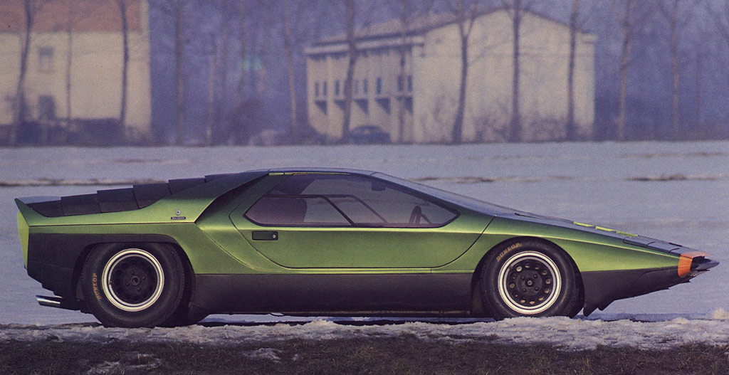 Bertone carabo photo - 2