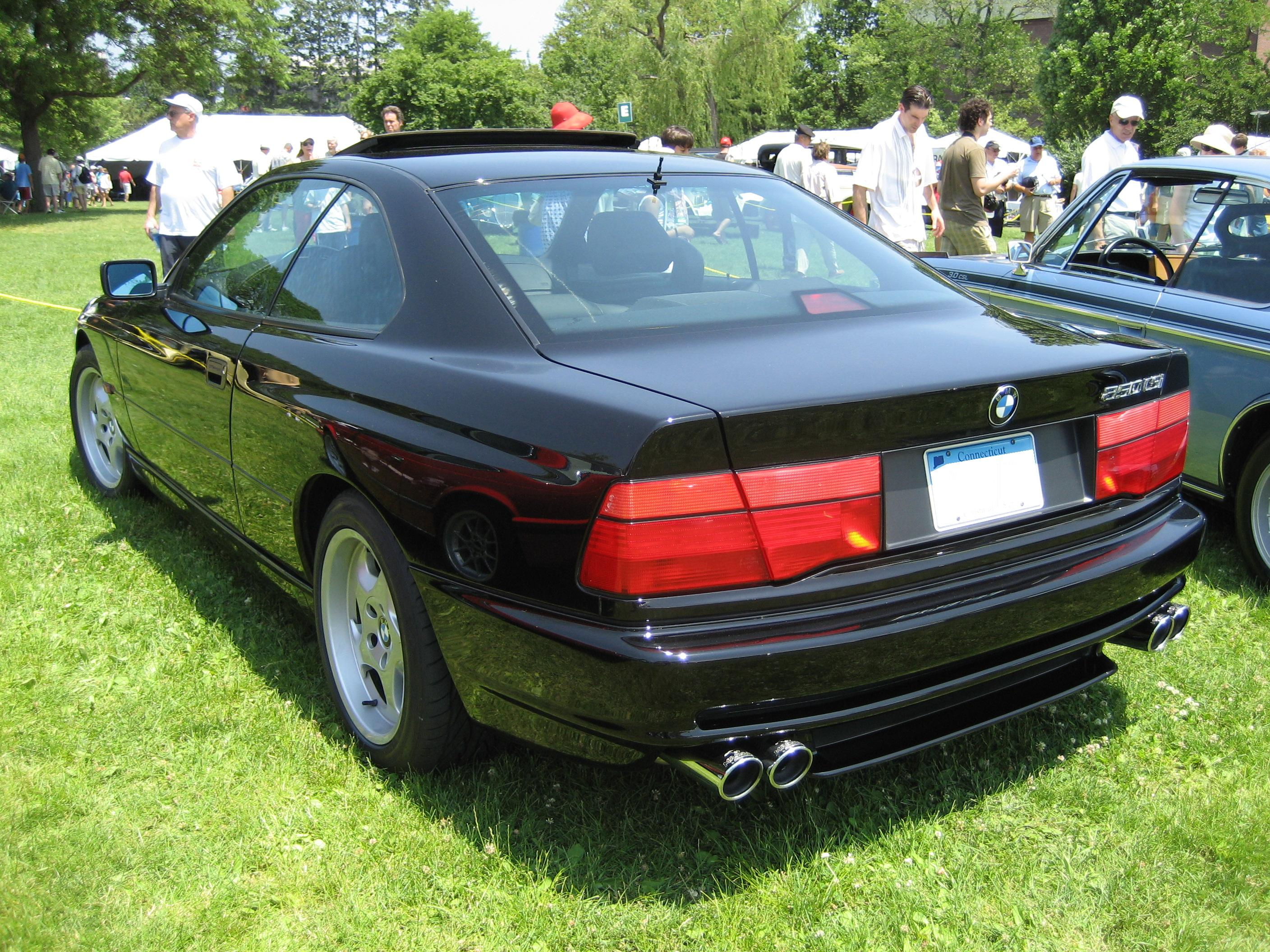 Bmw 850csi photo - 1