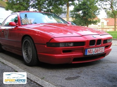 Bmw 850csi photo - 2