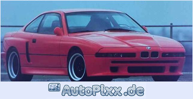 Bmw 850csi photo - 3
