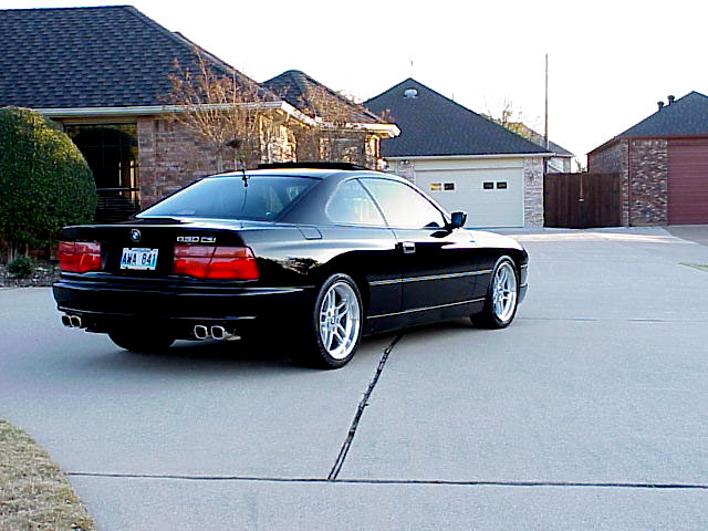 Bmw 850il photo - 2