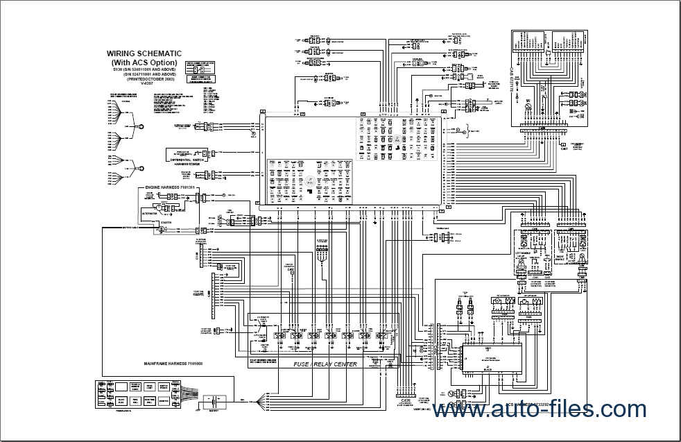 bobcat 843 wiring diagram best part of wiring diagrambobcat skid steer electrical diagrams 1 13 combatarms game de \\u2022