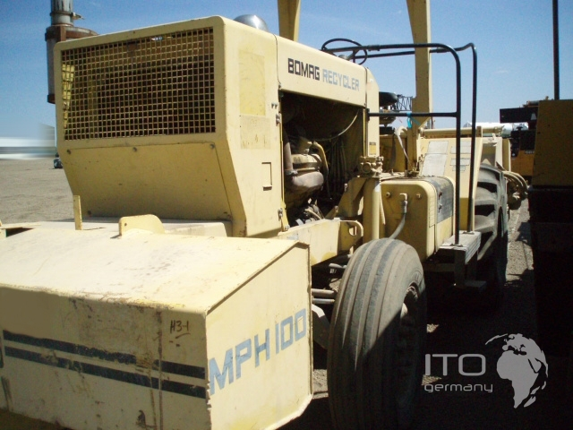 Bomag recycler photo - 1