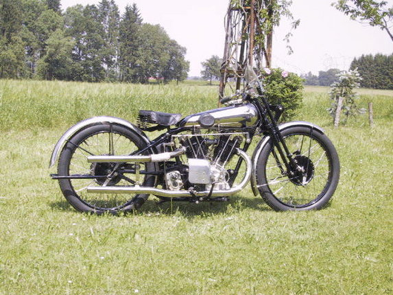 Brough superior 11-50 photo - 2