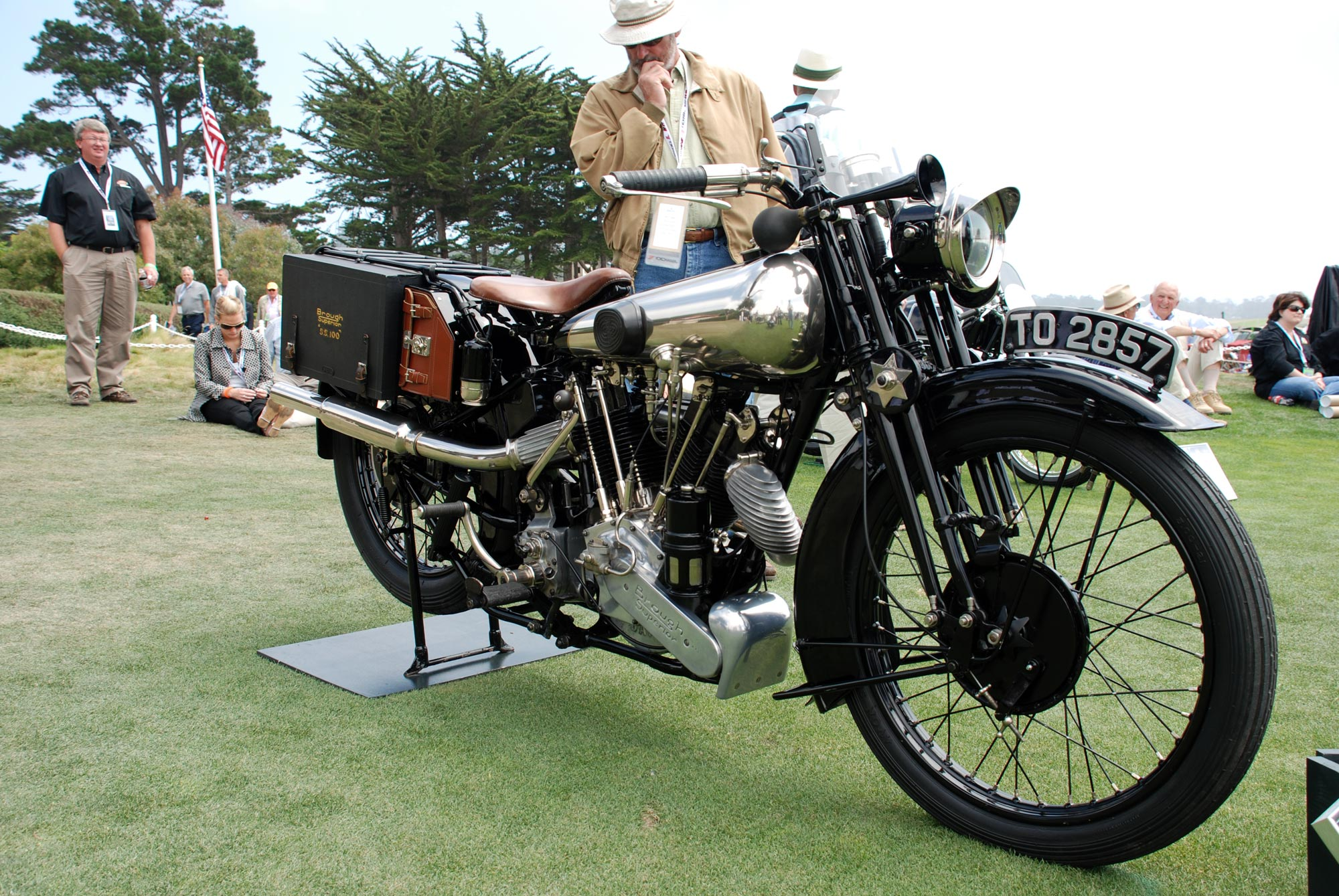 Brough superior ss photo - 2