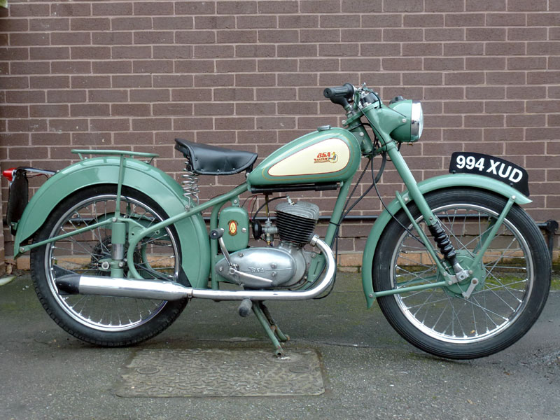 Bsa bantam photo - 2
