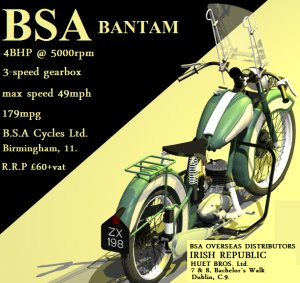 Bsa bantam photo - 3