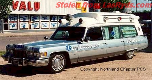 Cadillac ambulance photo - 3