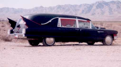 Cadillac hearse photo - 1